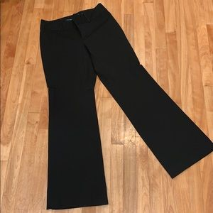 Banana Republic Jackson Fit Black Dress Pant - 4